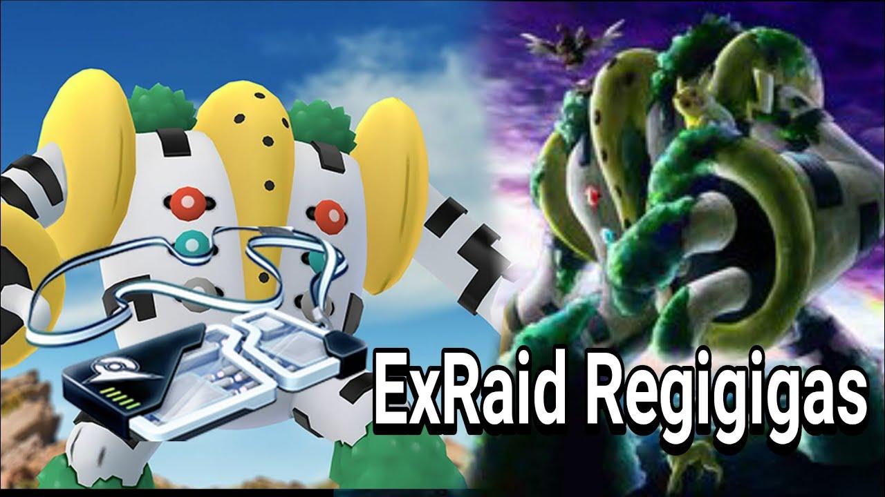 Battle ExRaid Regigigas : Pokemon Go