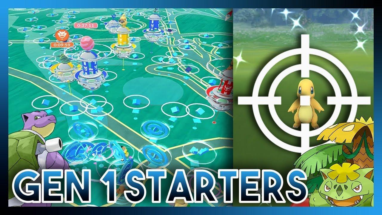 Best STARTER Nest Coordinates in Pokemon GO