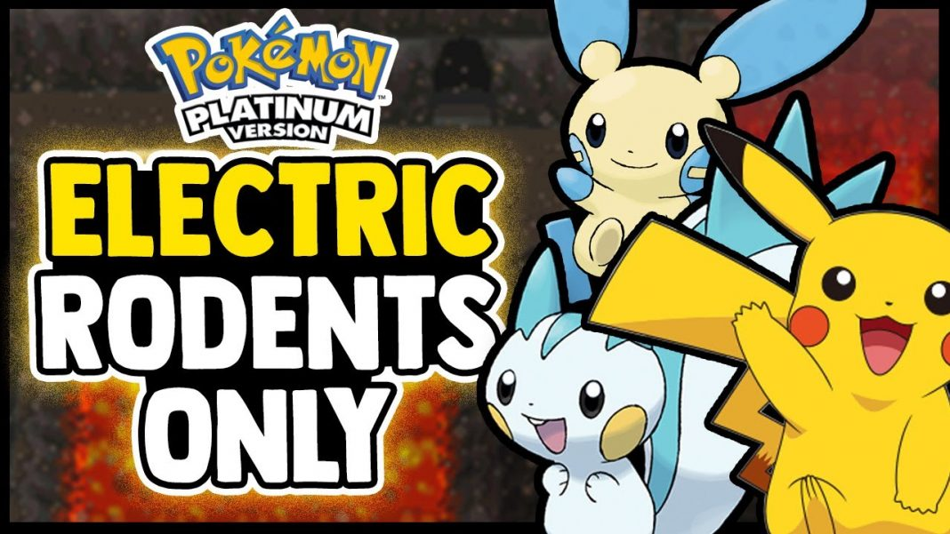 can you beat pokemon platinum with only electric rodents
