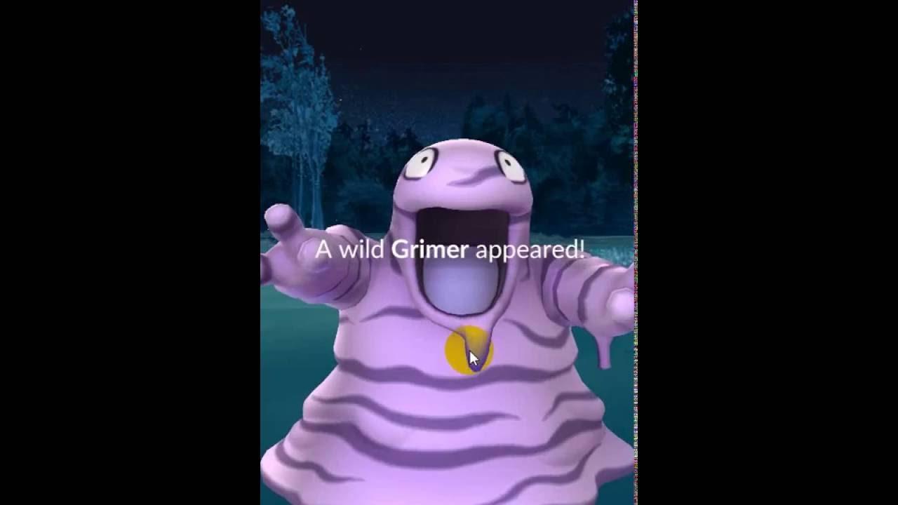 catch Grimer #088 in pokémon go