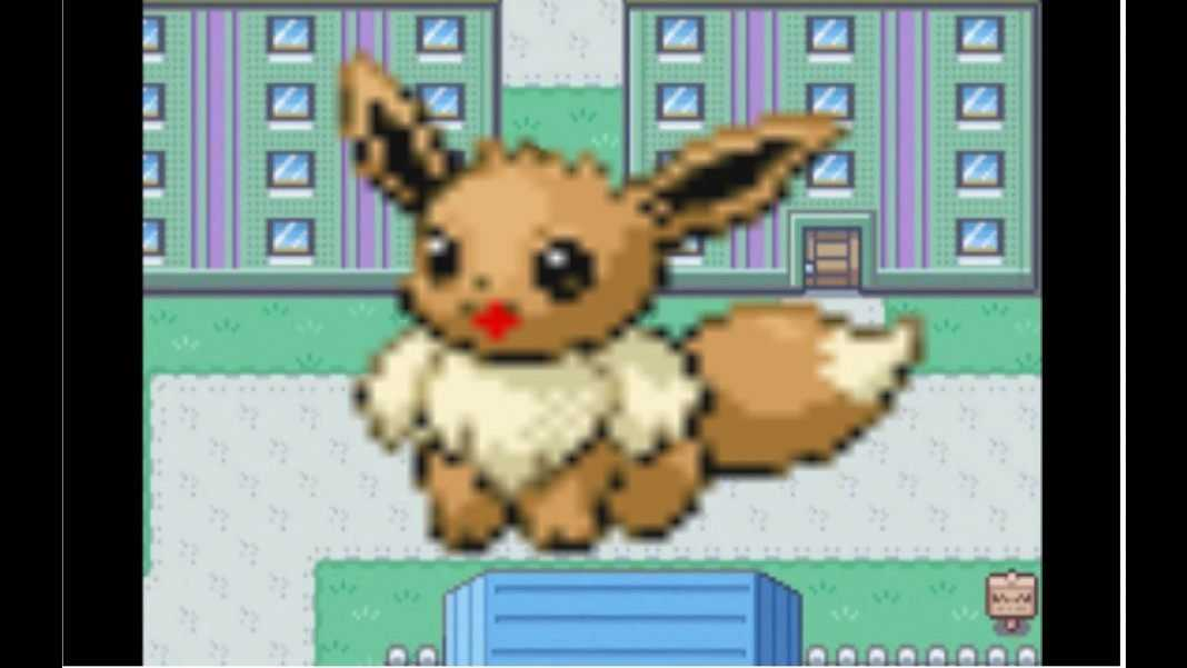how to get eevee in pokemon fireredleafgreen version