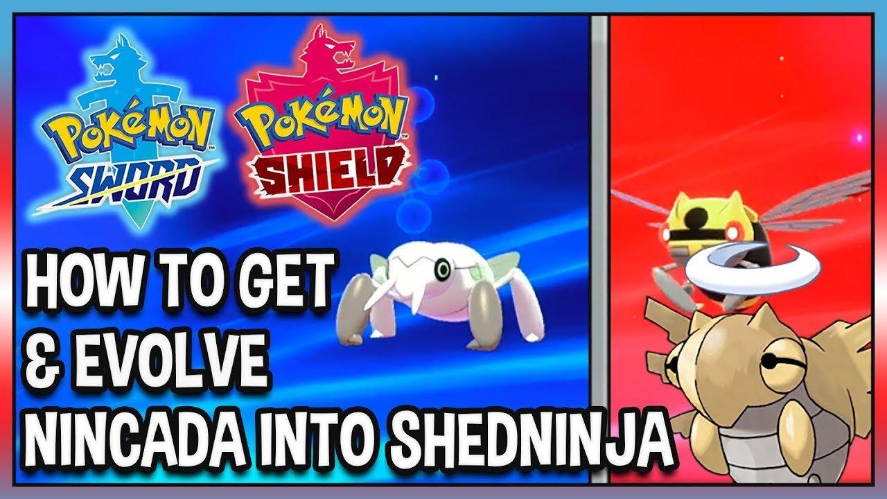 How to get &  Evolve Nincada into Shedninja in Pokémon ...