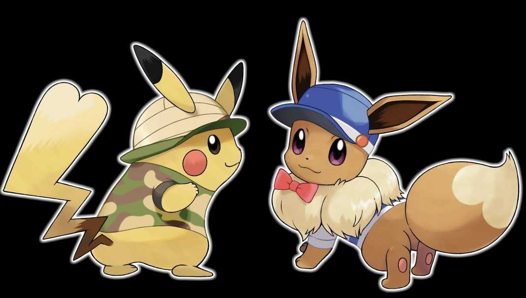 how to start with a female pikachu or eevee pokemon let