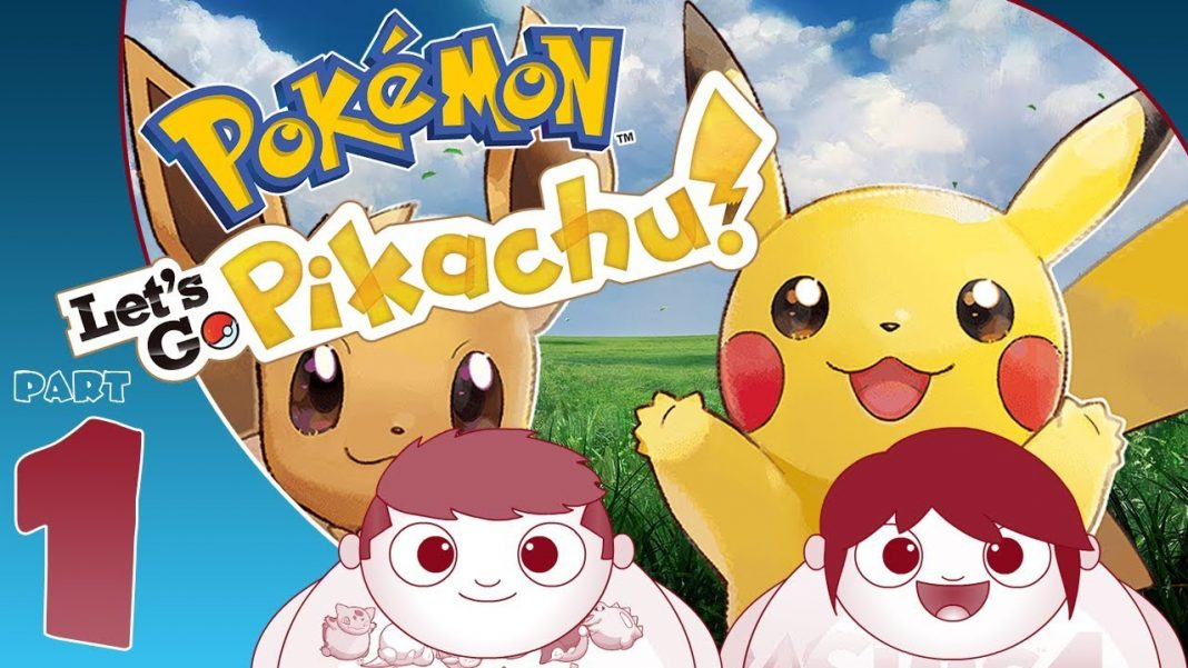 how to team up pokemon lets go pikachu co op part 1