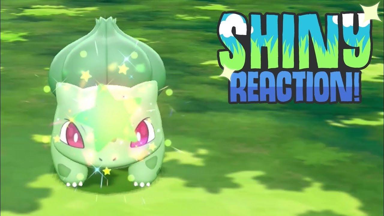 LIVE SHINY BULBASAUR! (Pokémon Lets Go Pikachu/Eevee ...