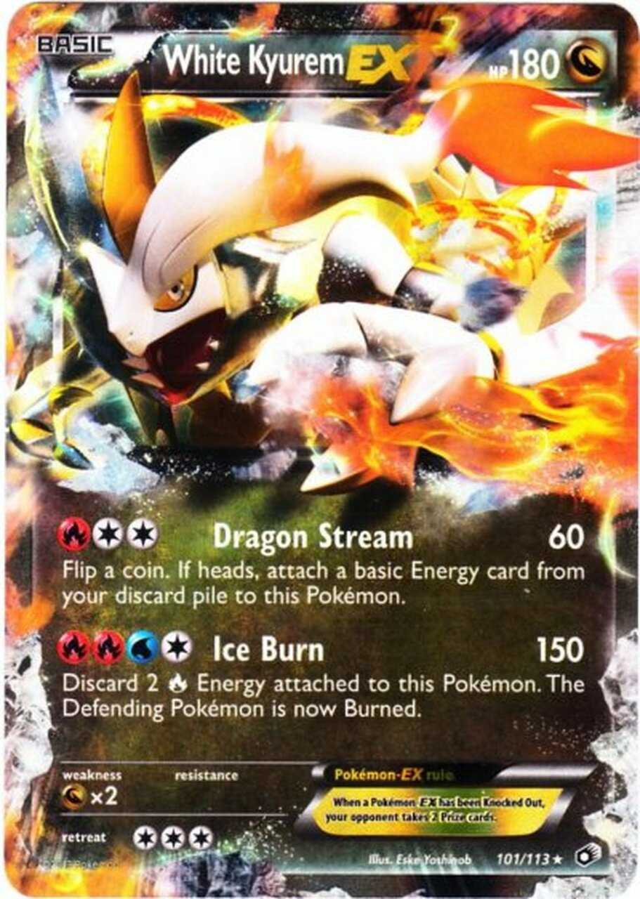 Pokemon Black White Legendary Treasures Single Card Ultra ...