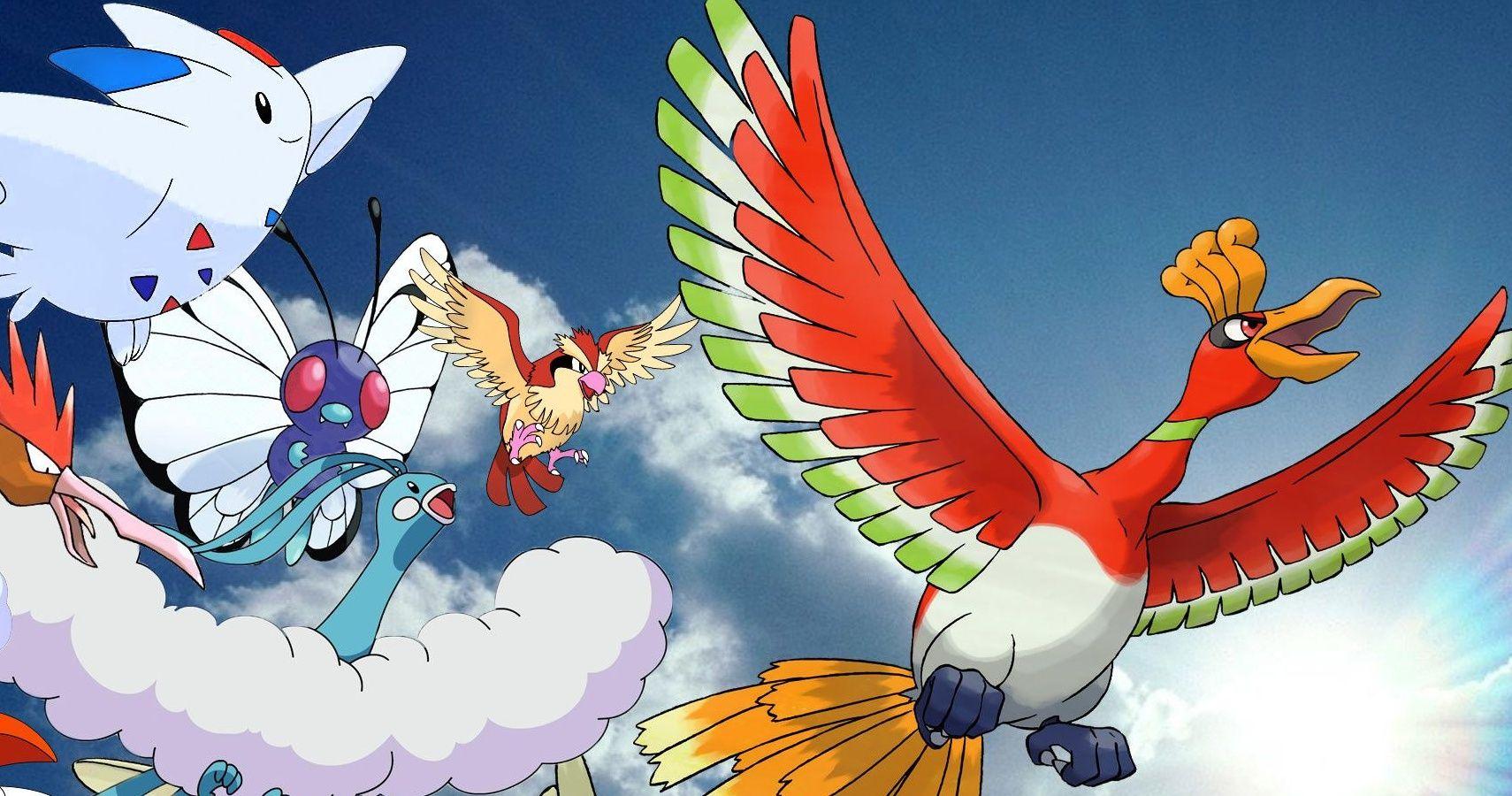 Pokémon Go: 10 Best Flying