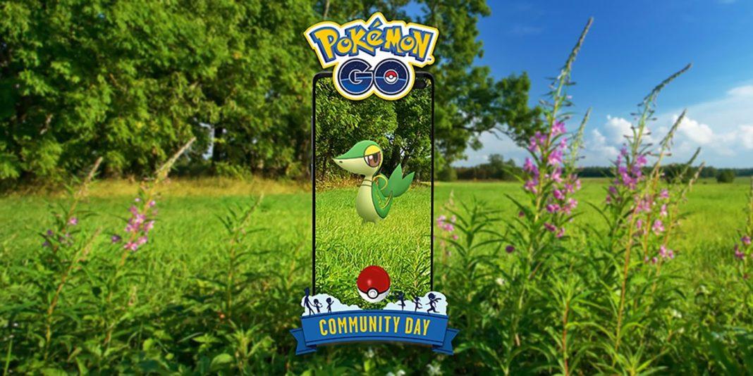 pokemon go april 2021 snivy community day guide game rant