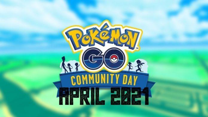 Pokemon GO Community Day April 2021 What