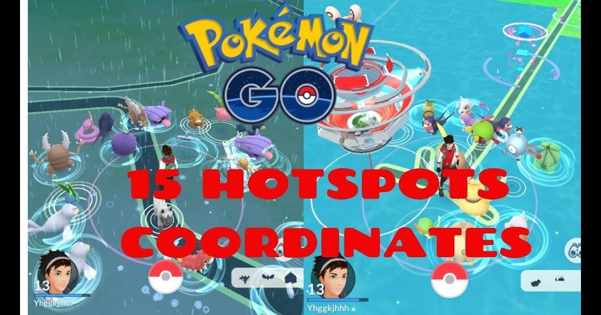 Pokemon Go Hotspot Coordinates getspoofer.com ...