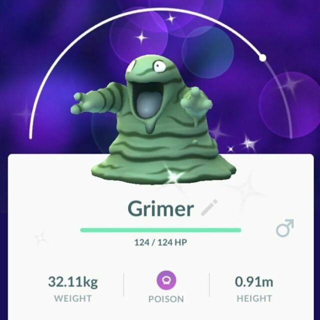 Pokemon Go Shiny Grimer Trade