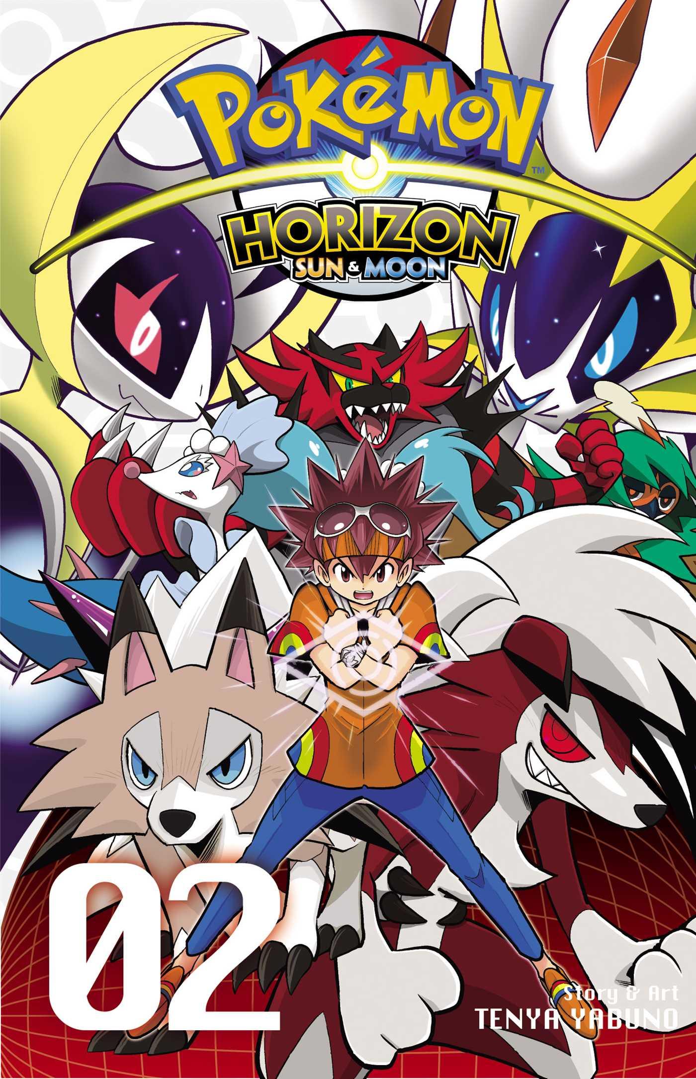 Pokemon Horizon Sun & Moon Manga Vol. 2 @Archonia_US