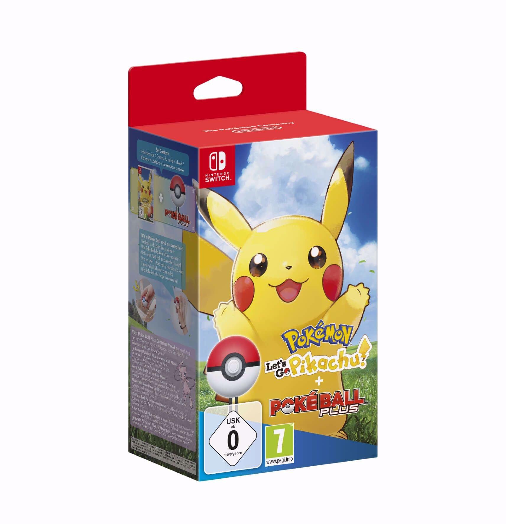 Pokemon Letâs Go Pikachu + PokeBall Plus Switch