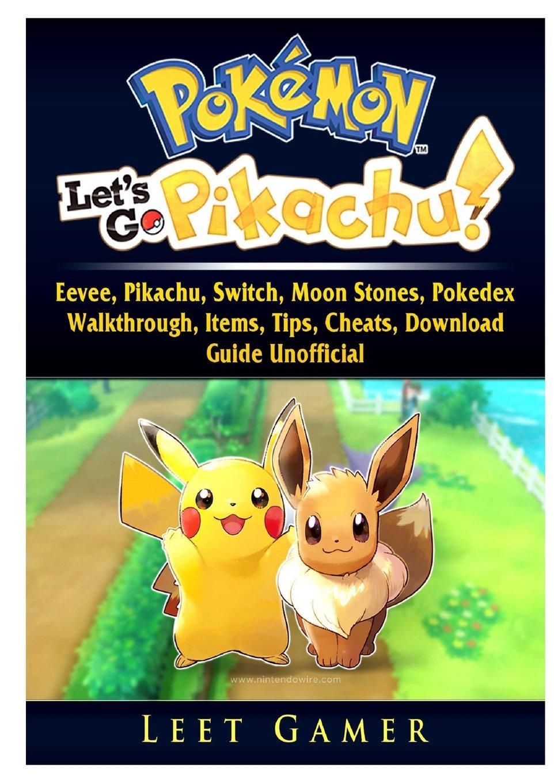 Pokemon Lets Go, Eevee, Pikachu, Switch, Moon Stones ...