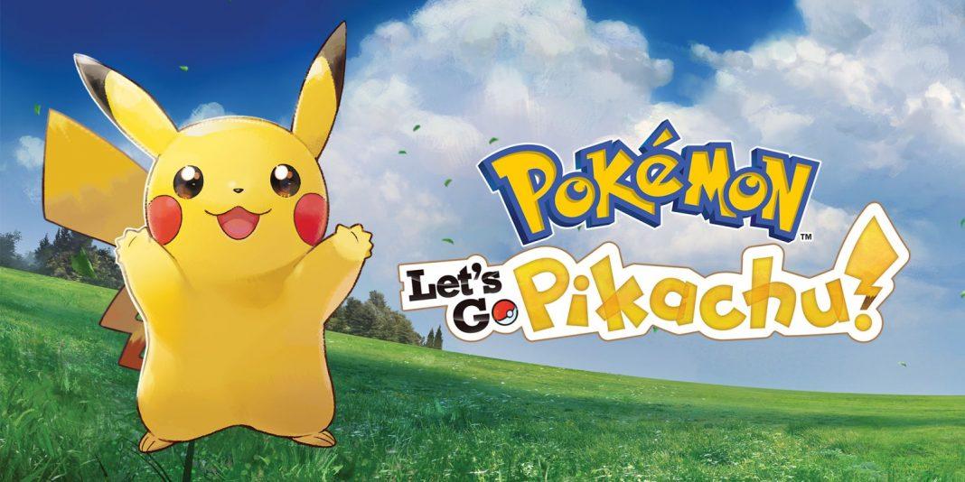 pokemon lets go pikachu nintendo switch games