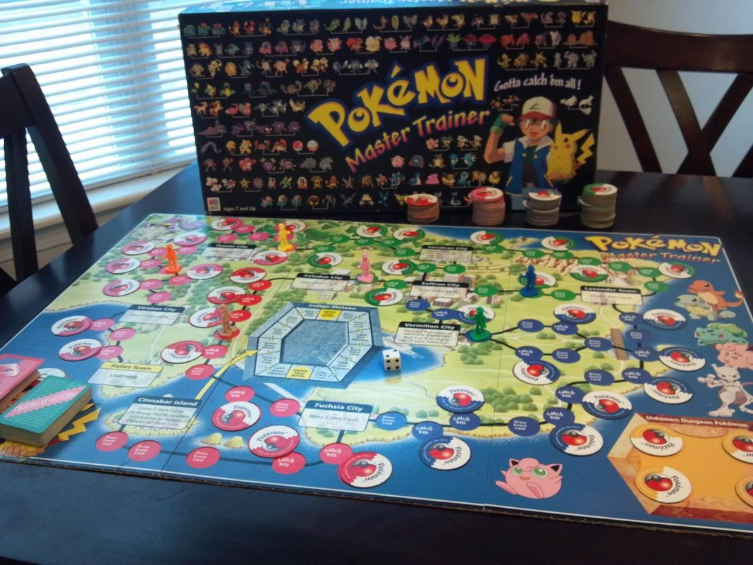 pokemon master trainer board game years later im