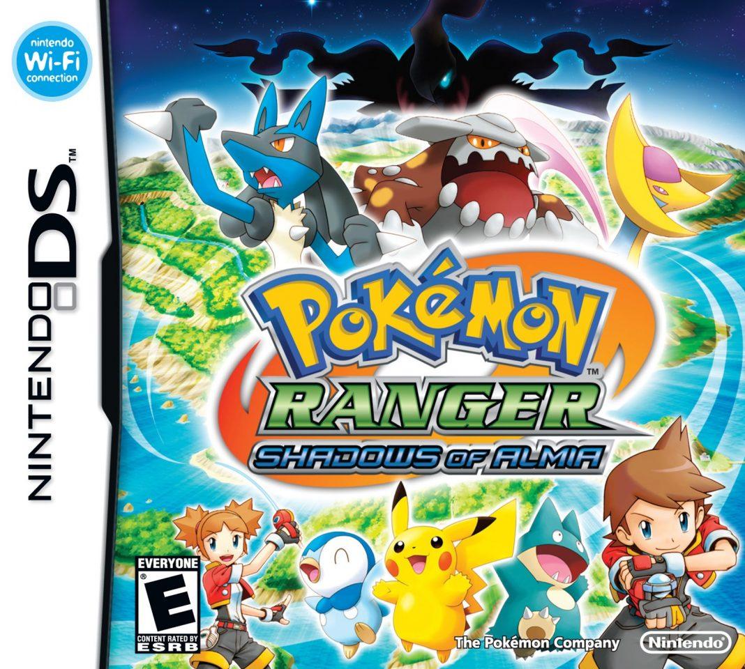 pokemon ranger shadows of almia ds game