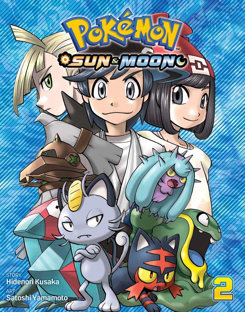 pokemon sun moon manga volume 2