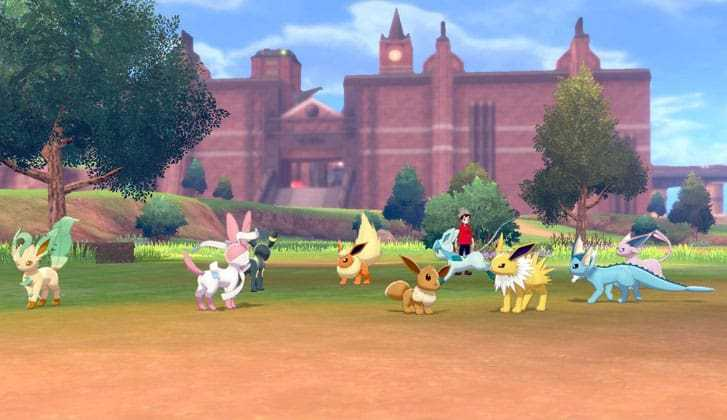 Pokémon Sword And Shield: How To Get Every Eevee Evolution