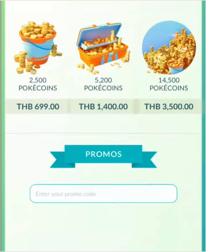 Redeem Active Pokemon Go Promo Codes