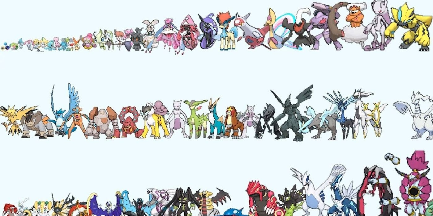 There Are Too Many Legendary Pokemon Now