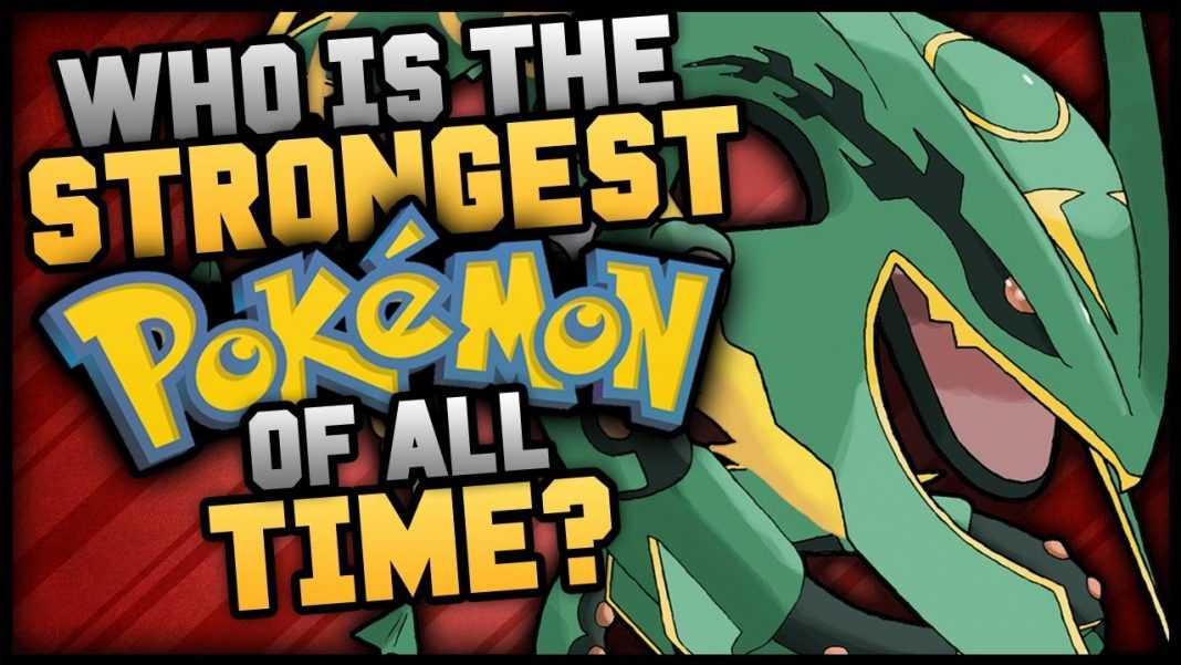 top 5 strongest pokemon of all time youtube
