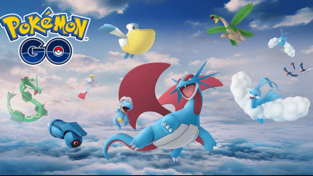 top five flying types move in pokemon go