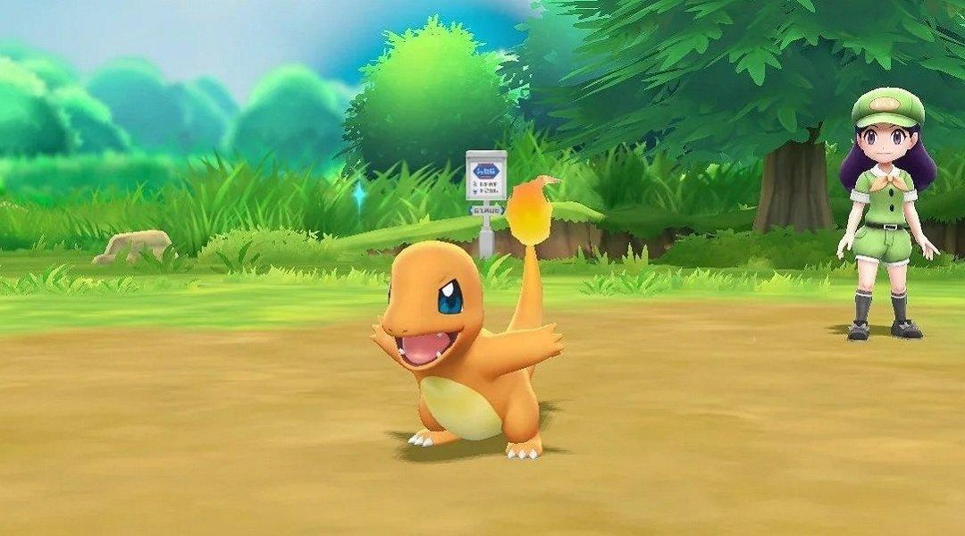 Where Is Charmander In Pokemon Let