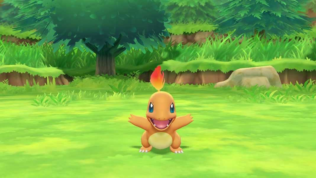 where to find charmander in pokemon lets go pikachu